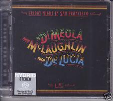 Friday Night in San Francisco Al Di Meola/John McLaughlin/Paco de Lucia SACD CD