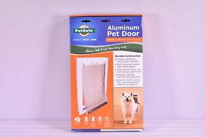 Pet Safe Freedom Aluminum Pet Door for Medium Dogs 1- 40 Pounds