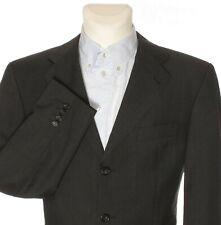 YSL YVES SAINT LAURENT Men's Check Suit Jacket Blazer Black EU 50 UK 40'' chest