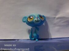 Littlest Pet Shop Blue Meerkat with Hazel Eyes #2699