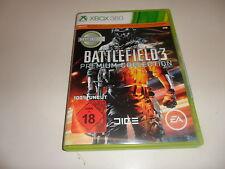 XBox 360  Battlefield 3 - Premium Edition  USK 18