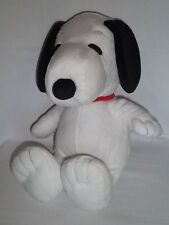 "KOHL'S 14"" Plush SNOOPY Dog White Red Collar Stuffed Peanuts Gang Animal Kohls"