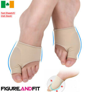 2 X Foot Fabric Gel Bunion Pads Protectors Sleeves Hallux Valgus Corrector Pad