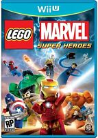 NINTENDO WII U VIDEO GAME LEGO MARVEL SUPER HEROES UNIVERSE IN PERIL BRAND NEW