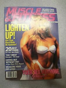 joe weider's muscle & fitness magazine   may 1991