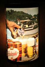 HUDEPOHL •FLAT TOP CAN• HEAT MOTION LAMP ADVERTISING BEER SIGN CINCINNATI, OHIO+