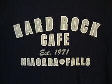 Hard Rock Cafe Niagara Falls Canada Souvenir Established 1971 Navy T Shirt M