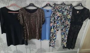 Ladies Size 12 Clothes Bundle WHISTLES NEW LOOK PEACOCKS