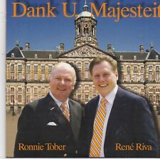 Ronnie Tober&Rene Riva-Dank U Majesteit cd single