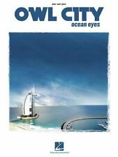 OWL CITY OCEAN EYES - PIANO/VOCAL/GUITAR SONGBOOK 307105