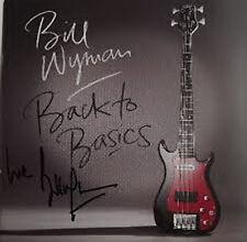Bill Wyman, Back To Basics, NEW/MINT LTD edition CD album in HAND SIGNED CASE