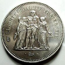 FRANCIA (FRANCE) Silver 50 Francs -1977
