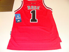 adidas Chicago Bulls Derrick Rose Red Youth L Revolution 30 Swingman Jersey NBA
