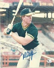 Mark McGwire Global Authentics Authenticated Autographed Photo with Cert A's
