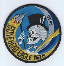 95th FS F-15 BONEHEAD EAGLE INTEL patch