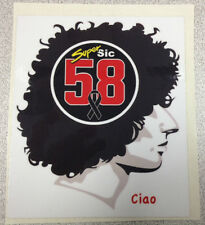 Marco Simoncelli Super Sic 58 ciao sticker