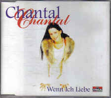 Chantal- when ich Liebe cd maxi single