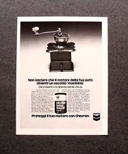[GCG] M574 - Advertising Pubblicità - 1976 - CHEVRON GOLDEN  MOTOR OIL