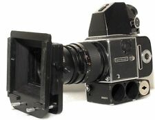 Hasselblad 500 ELX FIlm Camera w/ Magazine Carl Zeis 4/150 mm Lens Matte Box PKG