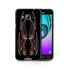 Housses et coques anti-chocs rouge Samsung Galaxy J pour téléphone mobile et assistant personnel (PDA)