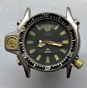 Vintage Citizen Aqualand Promaster C022-088093Y not working many spare parts