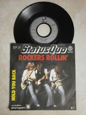 Single - Status Quo - Rockers Rollin` / Hold you back