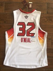 Shaquille O'Neal Signed Mitchell Ness All Star Jersey Shaq Autographed PSA WITNS
