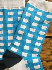 Table Cloth (light blue) Fredrick Harold,   Funky, Colorful Socks