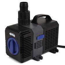 Étang Pompe de bassin filtre filtration cours d'eau Aquariophil 3000l/h-12000l/h