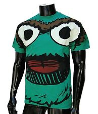 Sesame Street Skate Co. Green Mens T shirt size Medium