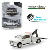 Greenlight 1:64 - Dually Drivers - 2018 Ram 3500 Dually Wrecker - White