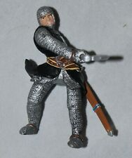 Rare Papo Knights St Johns Crusade Foot Soldier Hospitaller With Battle Axe