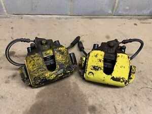 Genuine Ford Fiesta Mk6 ST150, Pair Of Front Brake Calipers, Carriers & Hoses