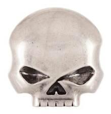 Harley-Davidson Men's Skull Rider Belt Buckle, Antique Nickel Finish HDMBU10080