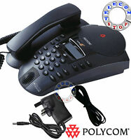 Polycom Soundpoint Pro SE- 225 Conference Phone Telephone  - Inc VAT & Warranty