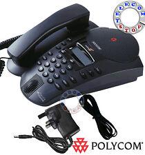 Polycom Soundpoint Pro SE- 225 Conference Phone Telephone  - Inc VAT & Warranty