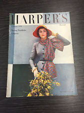 HARPER'S BAZAAR Magazine - February 1951