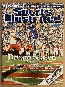 2007 Sports Illustrated KANSAS Jayhawks KERRY MEIER No Label NewsStand UNBEATEN