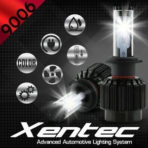 XENTEC LED HID Headlight kit 9006 White for 1992-1999 GMC C2500 Suburban