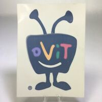 "TiVo Logo Reverse Static Cling Window Decal 5 1/2"" x 4"""