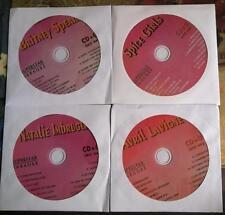 4 CDG DISCS LOT 90'S FEMALE KARAOKE HITS OF AVRIL LAVIGNE, CD MUSIC *SALE*