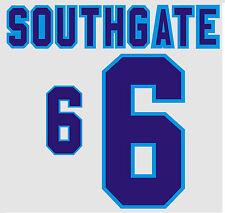 Euro 1996 Southgate 6 England Home Football Name set for National shirt