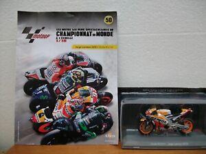 "Collection ""Les Moto GP"" au 1/18  N°50 Jorge Lorenzo - Honda RC213V  +  livret"