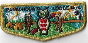 OA Ranachqua Lodge 4  Flap GMY Bdr. Greater New York, The Bronx [MX-9294]