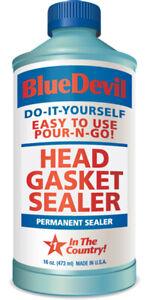 BLUE DEVIL Head Gasket Sealer (16 oz) BLU00209