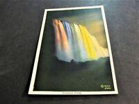 American Falls from below by Illumination-Niagara Falls, N.Y. -1900s Postcard.