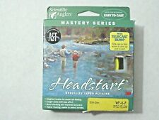 Wf-6-F Scientific Anglers Sa Mastery Headstart Floating Fly Line Yellow with Ast