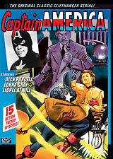 CAPTAIN AMERICA - CLASSIC CLIFFHANGER SERIAL- DICK PURCELL  2 DISC SET- DVD