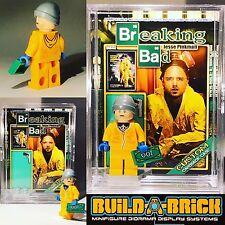 Breaking Bad Jesse Pinkman custom MINIFIGURE w/ Display Case & lego stand 333