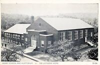 Postcard Henry School and Auditorium The Lutheran Home Topton Pennsylvania